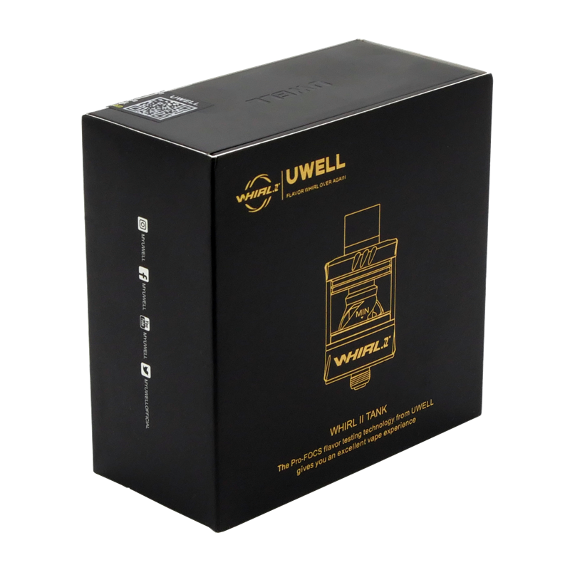 Uwell Whirl 2 Clearomizer - 25 mm - 3,5 ml DL/MTL