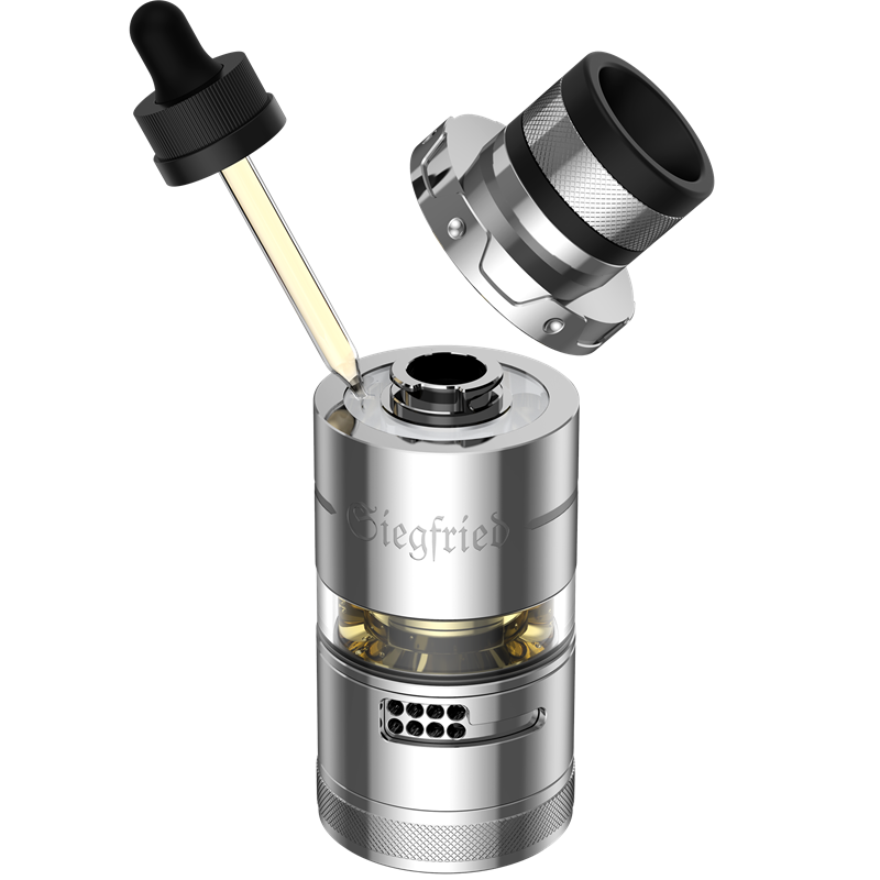 Vapefly Siegfried RTA - Verdampfer - 7,0 ml - 25,2 mm Ø
