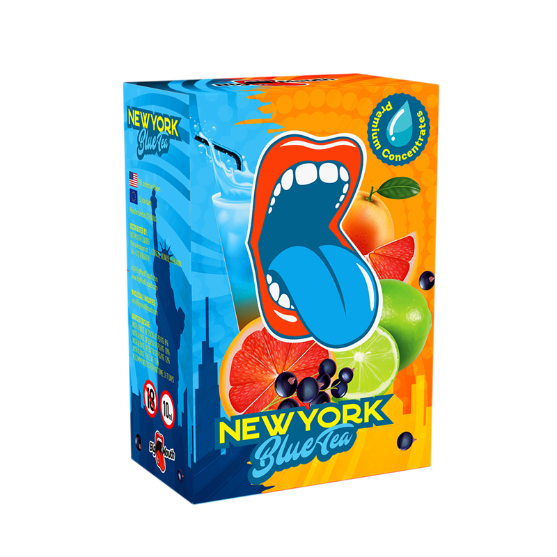 Big Mouth Aroma - Classic New York Blue Tea - 10 ml