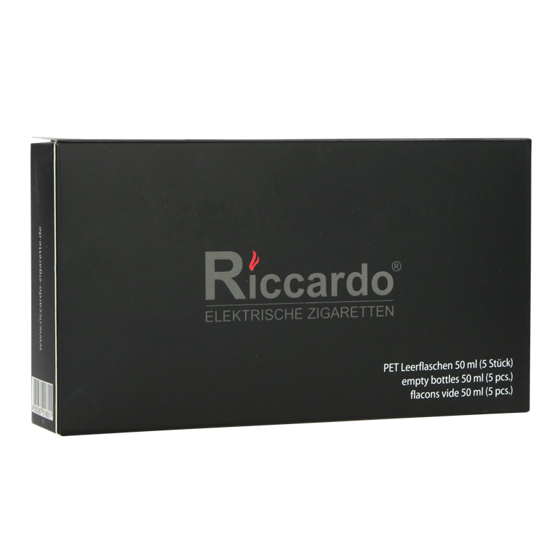 Riccardo® PS Pumpflasche - klar - 3er Set 50ml