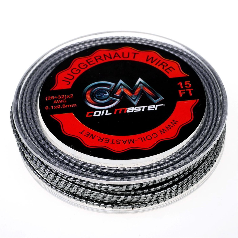 Coil Master Juggernaut Draht 3mRolle-26+32x2 AWG-0,4+0,2mmx2 ...