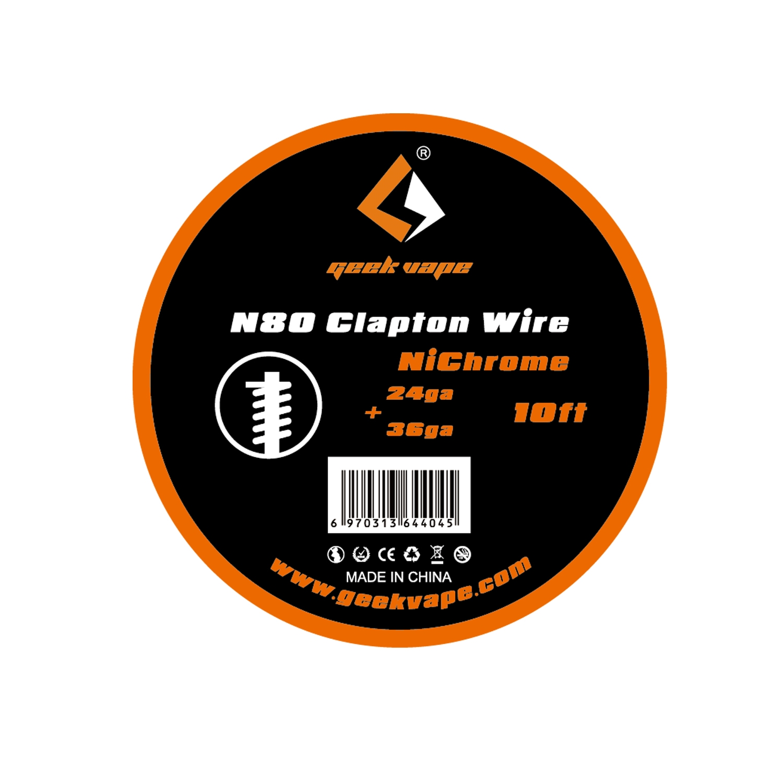 GeekVape NI80 Clapton Draht - 24 ga + 36 ga - 3 m - Wickelzubehör ...