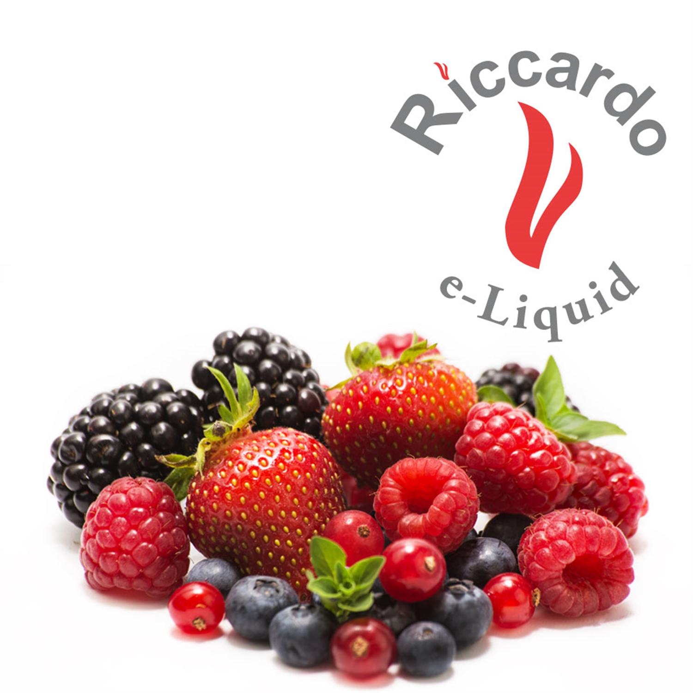 Riccardo® e-Liquid Frucht Mix - rot - Früchte Liquid Riccardo ...