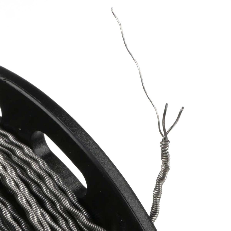 vandyvape kanthal a1 twisted clapton draht 28ga 2 32ga wickelzubeh r draht rollen. Black Bedroom Furniture Sets. Home Design Ideas