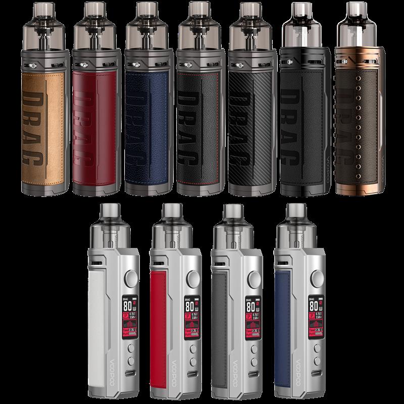 Voopoo Drag X Mod Pod - 4,5 ml - 18650er Akku - E-Zigaretten Sets