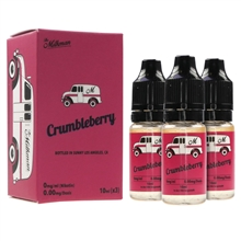 E-Liquid The Milkman - Crumbleberry - 3 x 10 ml