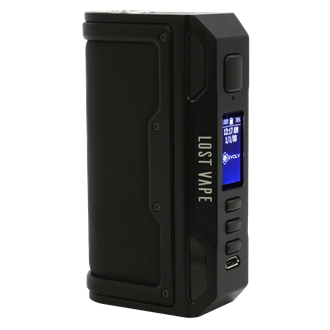 BA-Ware Lost Vape Thelema DNA 250C Box Mod - 200 Watt - black/calf leather