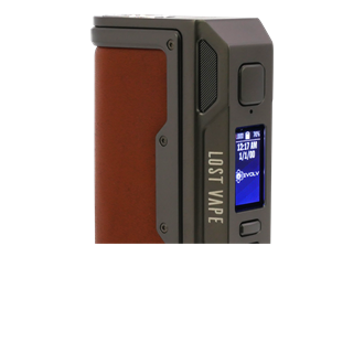BA-Ware Lost Vape Thelema DNA 250C Box Mod - 200 Watt - gunmetal/calf leather