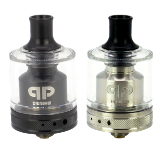 QP Design Gata RTA - 24 mm - 4,0 ml - MTL / DL Verdampfer