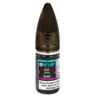 Riot Squad - Blue Burst - 20 mg/ml - Hybrid Nic Salt - 10 ml