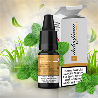 Dolcefumo - Pfefferminze - 10 ml E-Liquid
