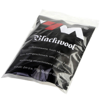 Blackwool Cotton - Cellulosewatte - hitzebeständig bis 450°C