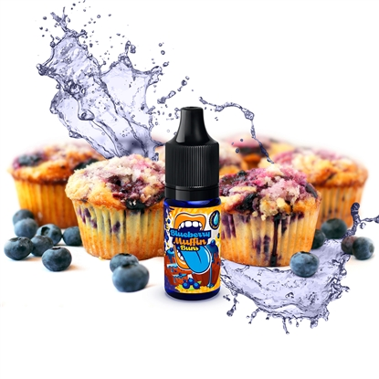 Big Mouth Aroma - Classic Blueberry Muffin Buns - 10 ml