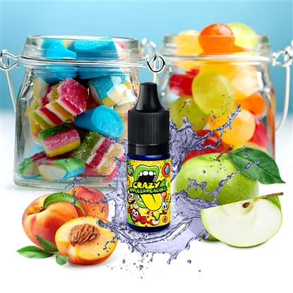 Big Mouth Aroma - Classic Crazy Apples and Peaches - 10 ml
