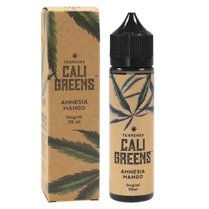 E-Liquid Cali Greens - Terpene - Amnesia Mango - 50 ml - 0mg
