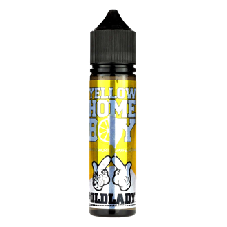 ganggang Aroma - Oldlady Yellow Homeboy - 20 ml - DIY