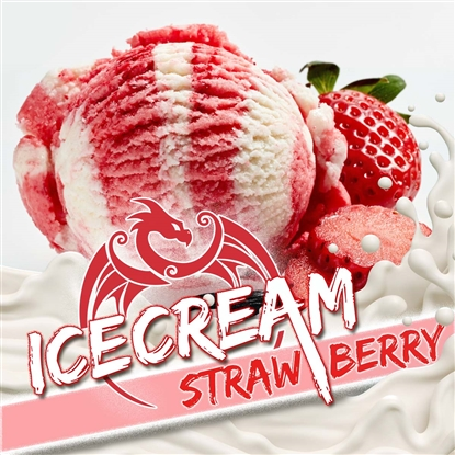 E-Liquid Strawberry Icecream by Red Dragon