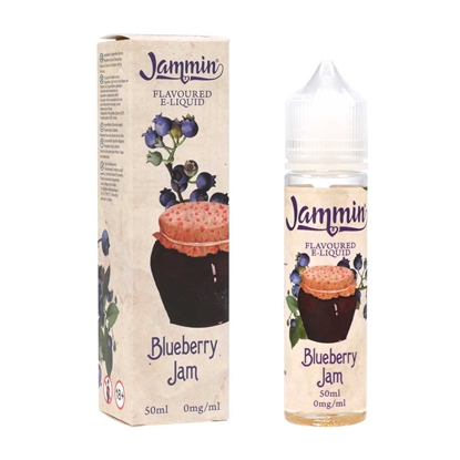 E-Liquid Jammin - Blueberry Jam - 50 ml - DIY