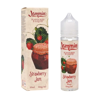 E-Liquid Jammin - Strawberry Jam - 50 ml - DIY