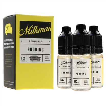 E-Liquid The Milkman - Pudding - 3 x 10 ml