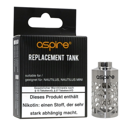 Aspire Nautilus Mini Hollowed Design Stahltank