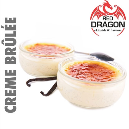 E-Liquid Crème Brûlée by Red Dragon