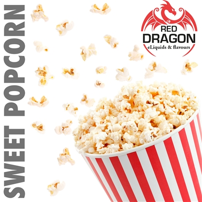 E-Liquid Sweet Popcorn by Red Dragon®