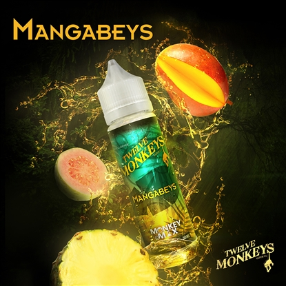 E-Liquid TWELVE MONKEYS - Mangabeys - 50ml