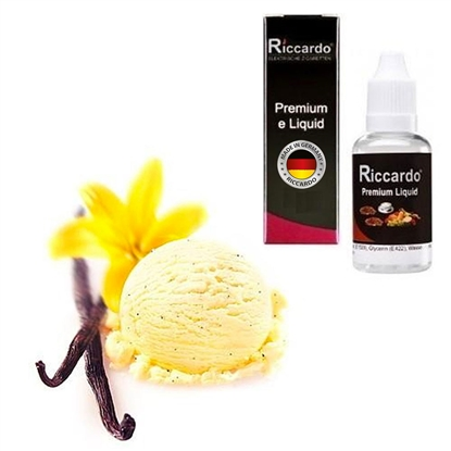 riccardo � e liquid vanille sahne kräuter amp gewürze